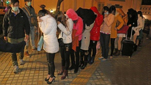 香港扫黄拘捕58名内地女子 年龄最大65岁(图)