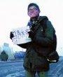 胡蓓蕾在新疆哈密途中