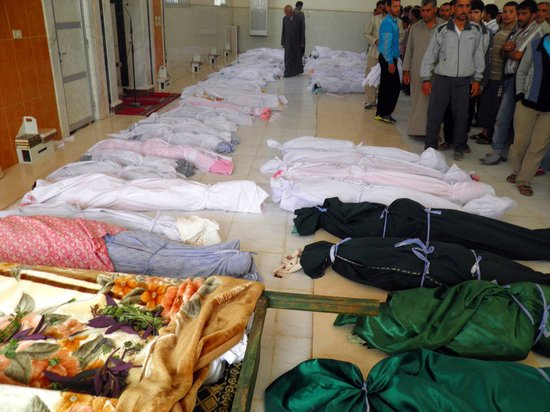 美英法德等八国驱逐叙利亚大使 抗议胡拉惨案