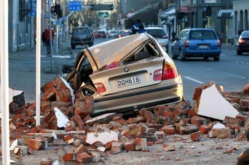 新西兰地震现场目击:第二大城市断水断电