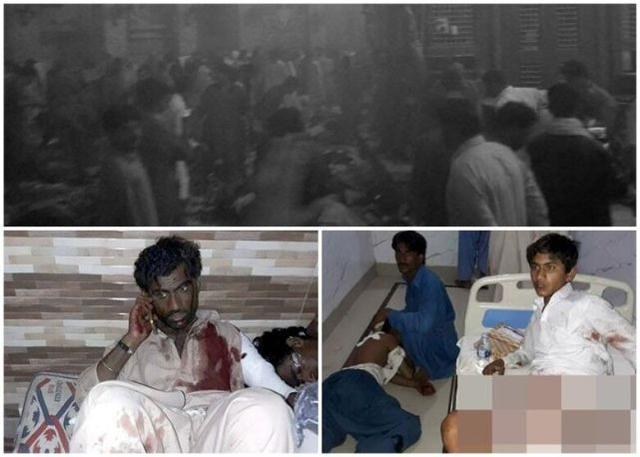 巴基斯坦清真寺遭袭至少100人身亡 IS宣称负责