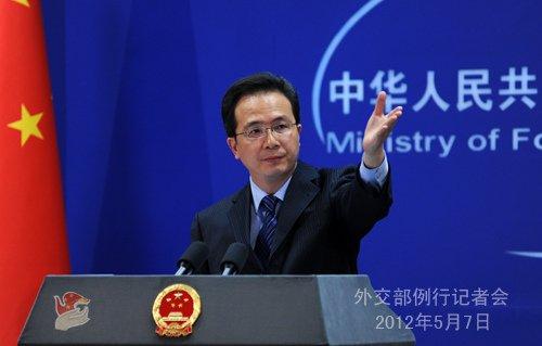外交部就黄岩岛事件、普京当选总统等答问(实录)