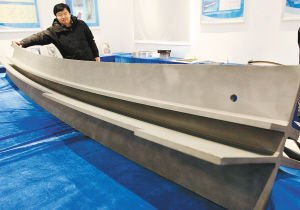 国产C919大飞机用3D打印制造3米长钛合金部件