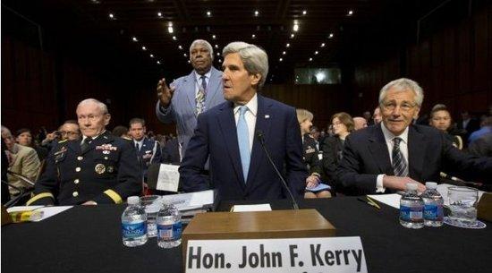 美国参院委员会授权对叙动武 禁止地面部队参战