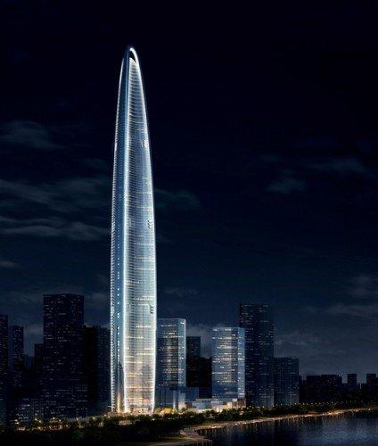 """武汉606米高楼拟""""拔高"""" 或成为中国第一高楼"""