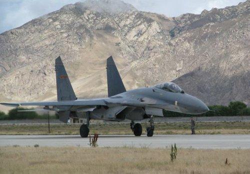 印媒:中国在西藏建5大空军基地 运兵能力大增