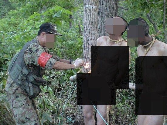 日自卫队被曝虐待士兵 上司火烧被绑裸体下属