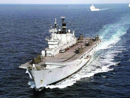 英国无敌级轻型航母或落户中国成第5艘旧航母