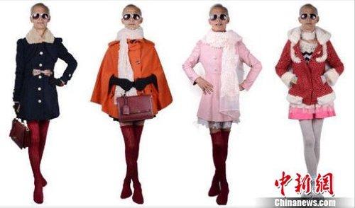 72岁外公做淘宝女装模特 被赞有范儿