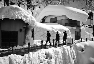 全国42地现极端低温 北京遇10年来最冷元宵节
