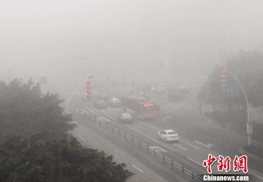 四川迎春节返程高峰 多地因大雾高速关闭