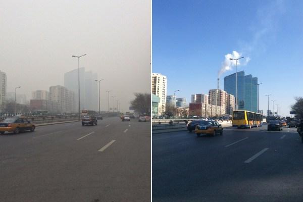 北京呼吸科门诊爆满 不堪雾霾哮喘病人翻番