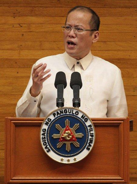 菲律宾总统发表国情咨文 要求中国尊重菲主权