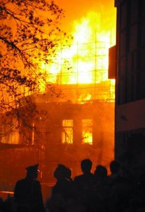 清华学堂火灾调查:几天前刚举行过消防演习