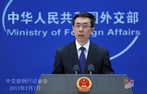 外交部就中国驻叙利亚使馆遭冲击等答记者问