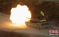高清:韩国举行最大规模军演