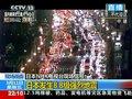 视频:日本东京入夜后各条主干道交通严重拥堵