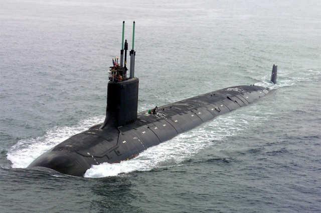 """外媒:中国拟修法 外国潜艇或需""""露面""""通过领海"""
