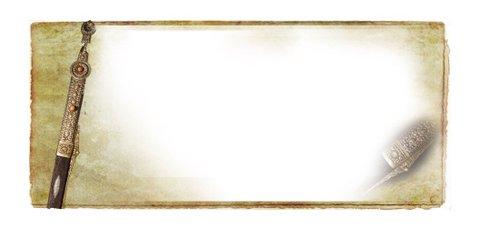 ppt 背景 背景图片 边框 模板 设计 相框 500_228