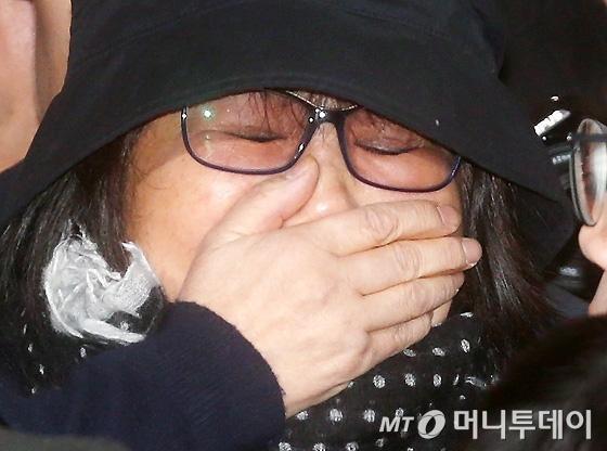 韩国检方拘留崔顺实 称其有毁灭证据和潜逃可能