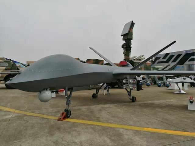 """中国""""彩虹""""5无人机总体作战能力达国际领先水平图片"""