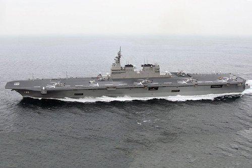 张召忠:日本致力发展航母主要是为应对中国
