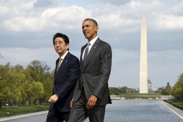 安倍首访珍珠港欲讨好美国总统 向美国表达忠诚