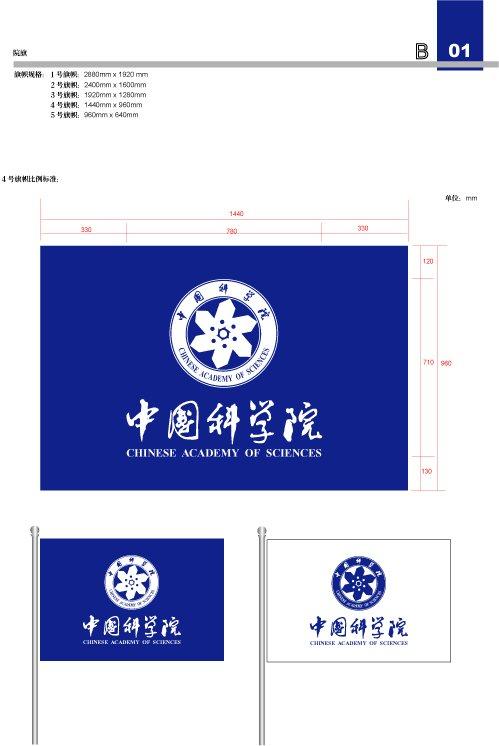 中国科学院院旗说明