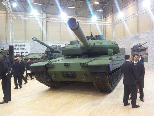 """土耳其国产""""阿勒泰""""坦克完成测试准备量产"""