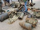 土军被库尔德缴获的武器装满一车