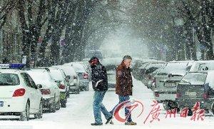 欧洲超550人因寒冷天气身亡 22国发极寒警报