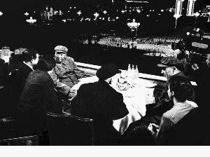 1971年5月1日毛泽东和林彪最后一次登上天安门
