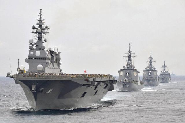 日本抢先于中俄钓鱼岛军演前在东海夺岛演习