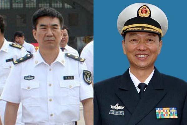 海军副司令员丁毅、东海舰队政委王华勇晋升中将