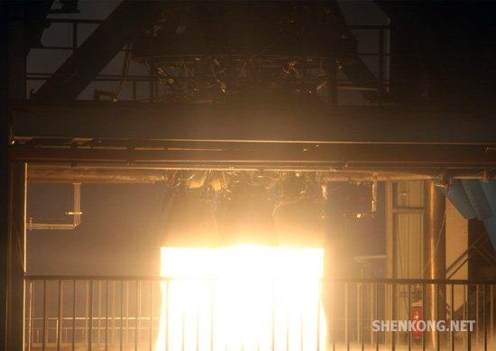 长征七号火箭助推器试车成功 达国际先进水平