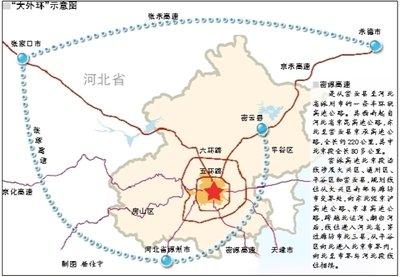 """北京建""""大外环""""取代七环路 将缓解过境压力"""