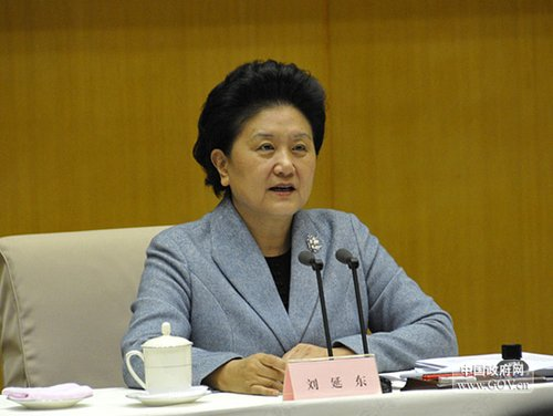 刘延东就发展学前教育工作提出三点意见(全文)