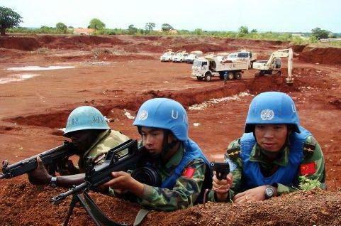 中国参与联合国维和行动士兵12年来增加36倍