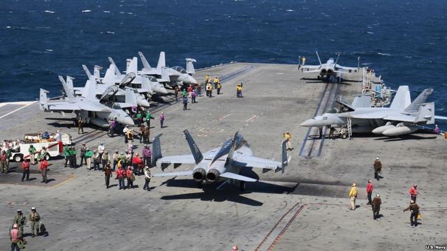 美官员:美军工厂为特朗普水师扩张企图做足准备