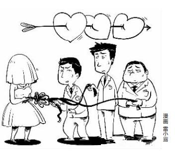 女子与3男子同时保持夫妻关系 为圆谎频换婚纱照