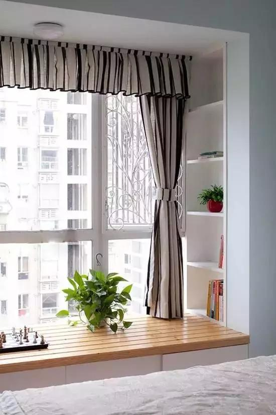小户型装修只要飘窗装得好 家里一秒变宽敞!