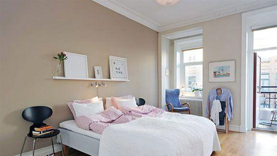家装界的一股清流 浅色系墙面打造清新轻日系小屋