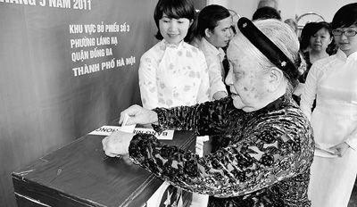 越南6200万选民选举500国会代表 节约成亮点