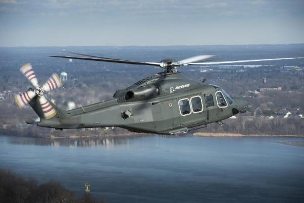 波音企业推出新款直升机争抢美国空军新竞标案