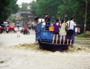南方暴雨已致105人死亡 湖南将再遭暴雨侵袭