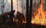 黑龙江大兴安岭发生森林火灾 200名官兵迅疾救援