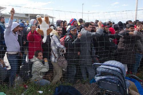 德国相信有能力每年接纳50万难民。(资料图片)