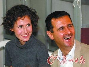 叙利亚第一夫人行踪成谜 反对派称其出逃遭拦截