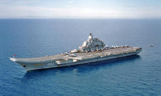 俄罗斯航母编队开向叙利亚海域 地区军事较量升级