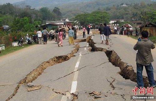 缅甸震中附近有3万华人暂无伤亡 华人或联手筹款